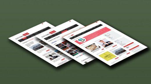 Diseño web para Juan Pablo Proal Periodista