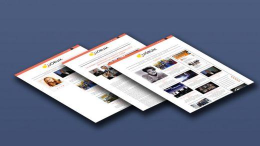Diseño web para Quorum Informativo, Diario.