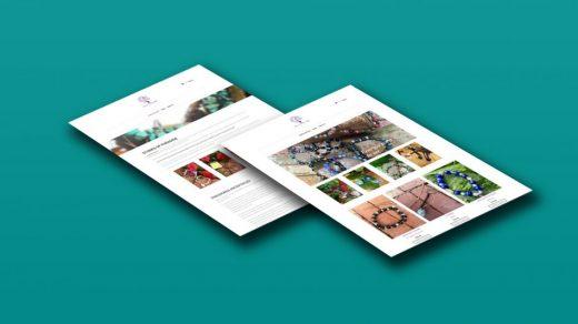 Diseño web para Stones of Paradise USA